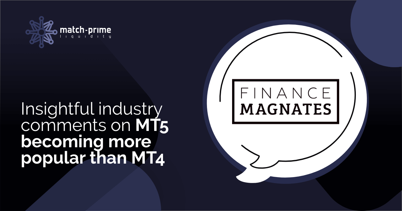 Industry comment: MT5 more popular than MT4