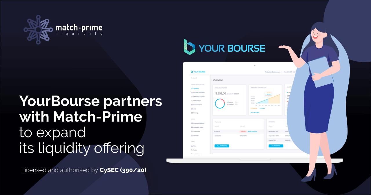 Your Bourse Announces Partnership With Match-Prime