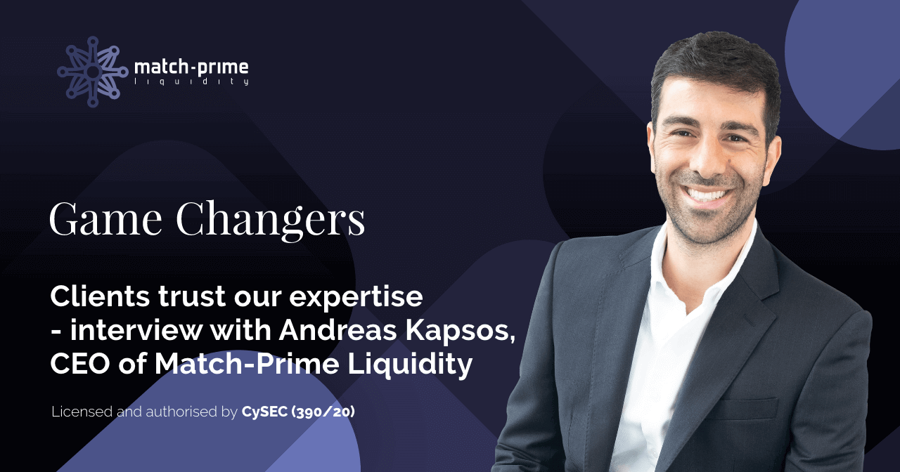 Game Changers Magazine interview with Andreas Kapsos